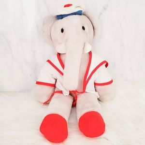 #1373 1977 Vintage Babar the Elephant by Eden
